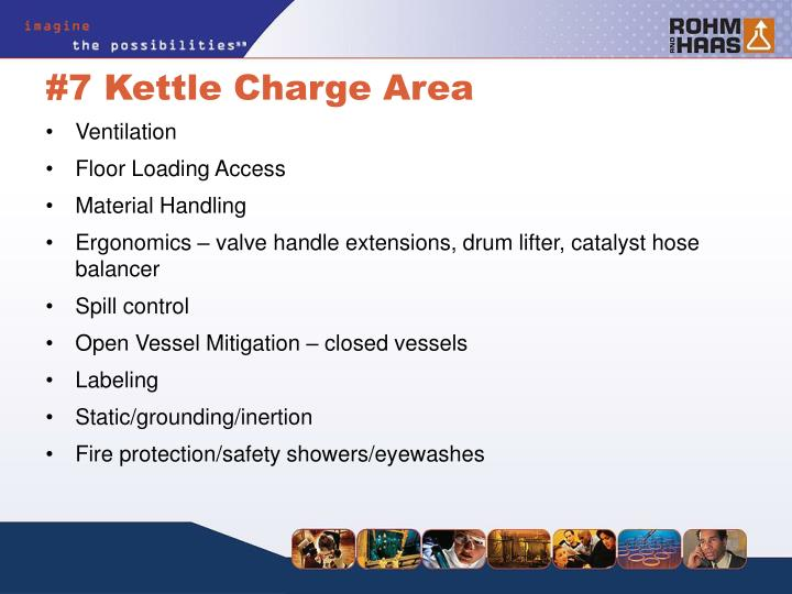 #7 Kettle Charge Area