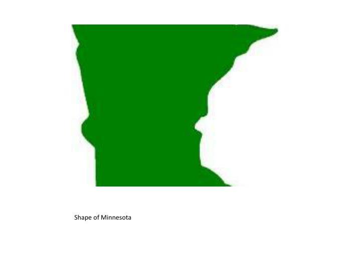 Shape of Minnesota