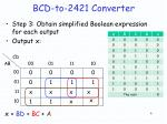bcd to 2421 converter1