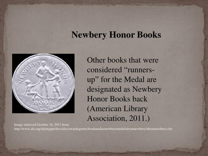 Newbery Honor Books