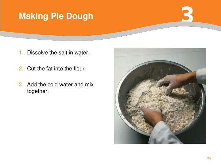 Making Pie Dough