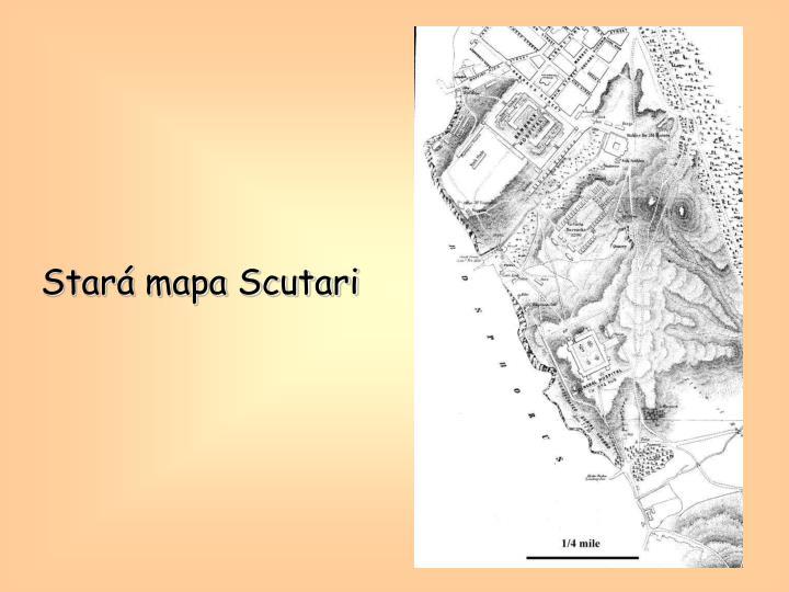 Stará mapa Scutari