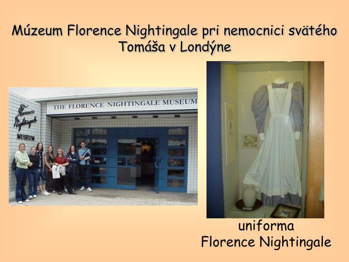 Múzeum Florence Nightingale pri nemocnici svätého Tomáša v Londýne