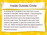 inside outside circle