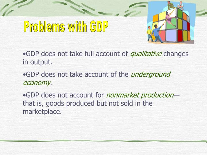 Problems with GDP