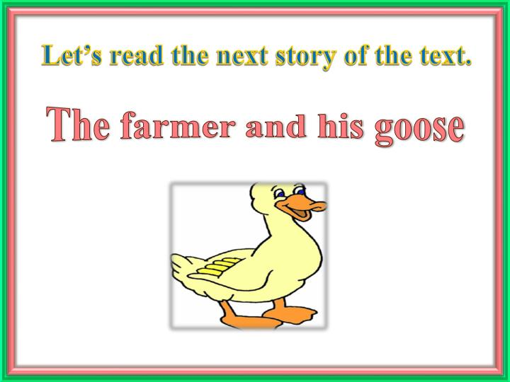 Let's read the next story of the text.