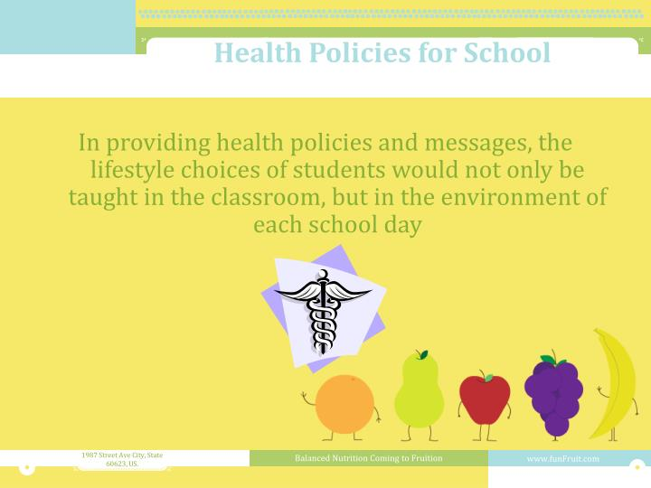 Health Policies for School