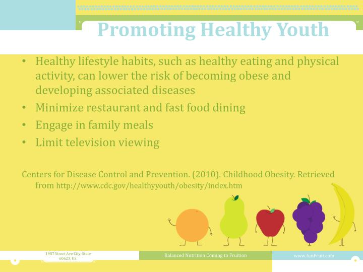 Promoting Healthy Youth