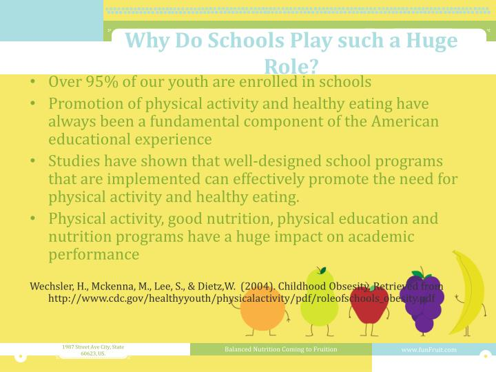 Why Do Schools Play such a Huge Role?