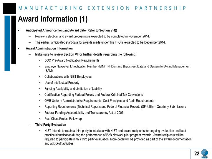 Award Information (1)