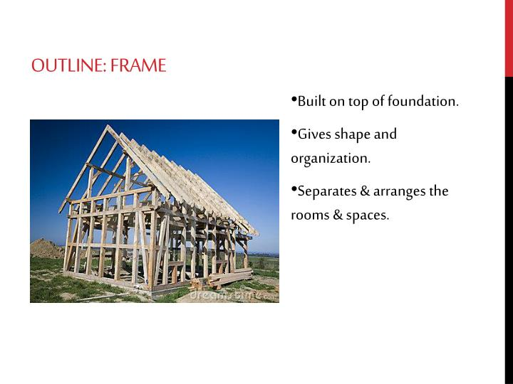 Outline: Frame