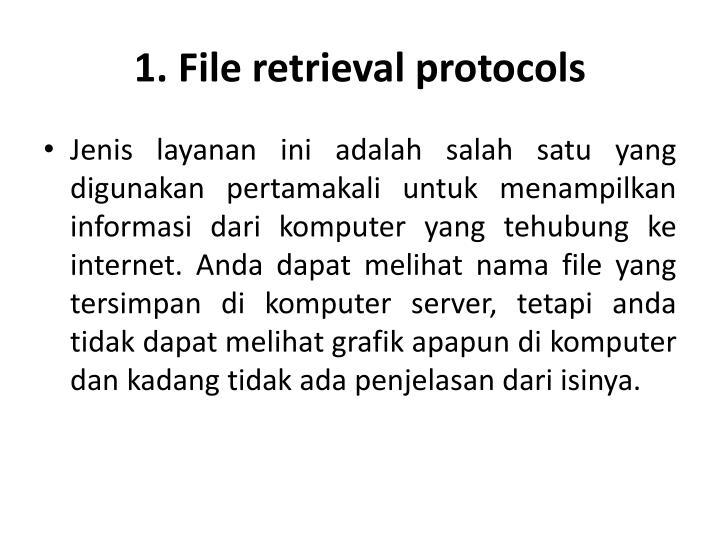 1. File