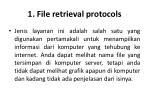 1 file retrieval protocols