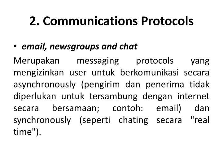 2. Communications Protocols