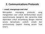 2 communications protocols