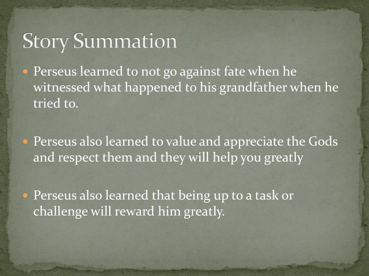 Story Summation
