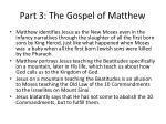 part 3 the gospel of matthew19
