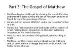 part 3 the gospel of matthew5