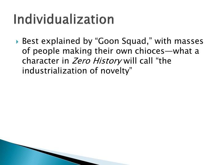 Individualization
