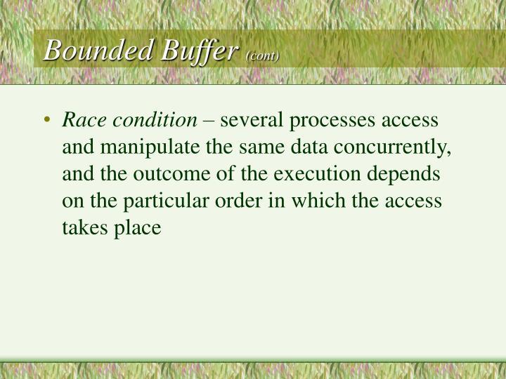 Bounded Buffer