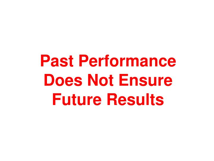 Past Performance