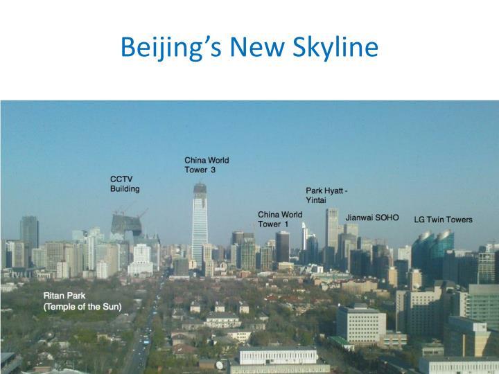 Beijing's New Skyline