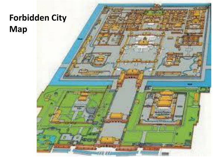 Forbidden City Map