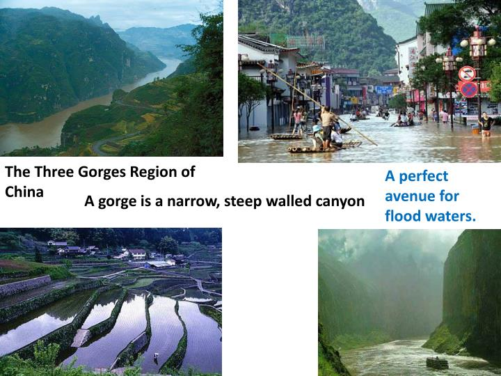 The Three Gorges Region of China
