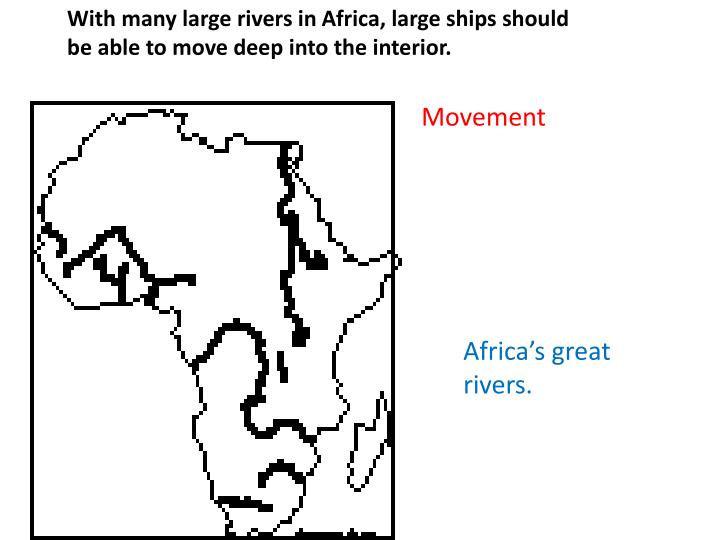 With many large rivers in