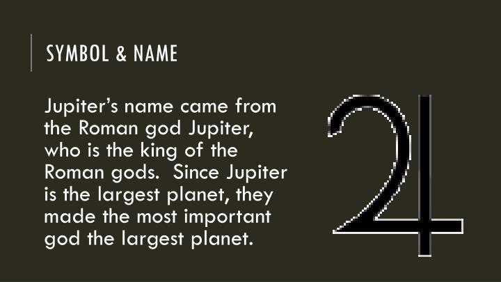 Symbol & Name