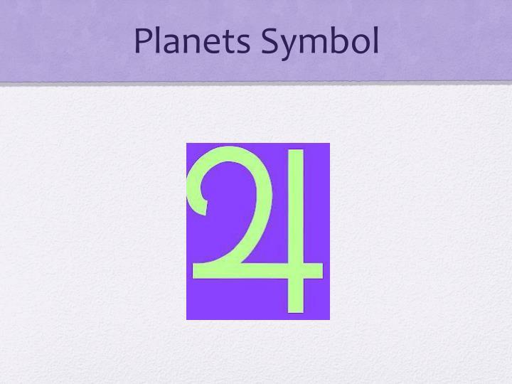 Planets Symbol