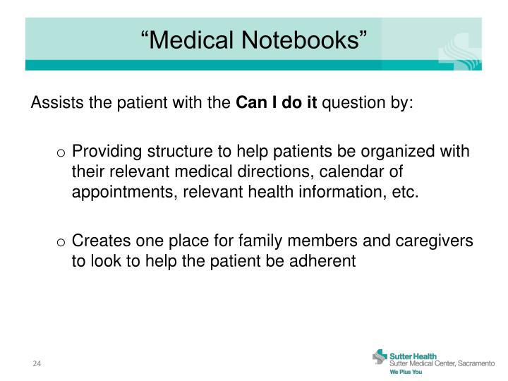 """Medical Notebooks"""
