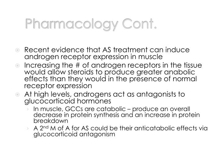 Pharmacology Cont.