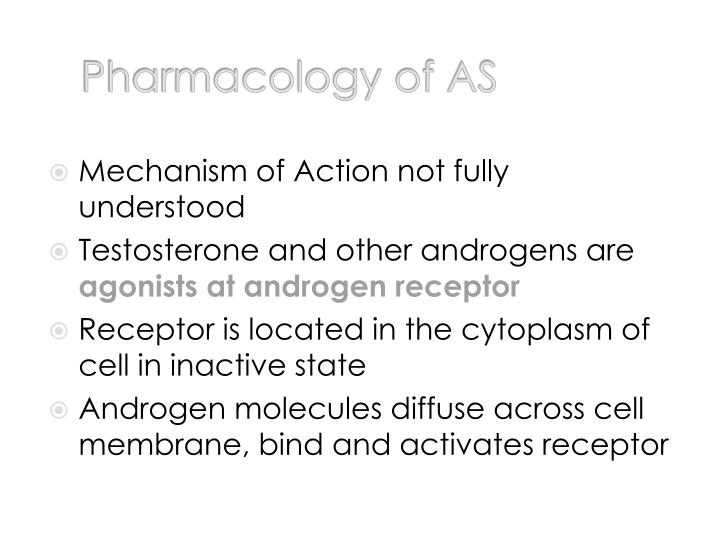 Pharmacology of AS