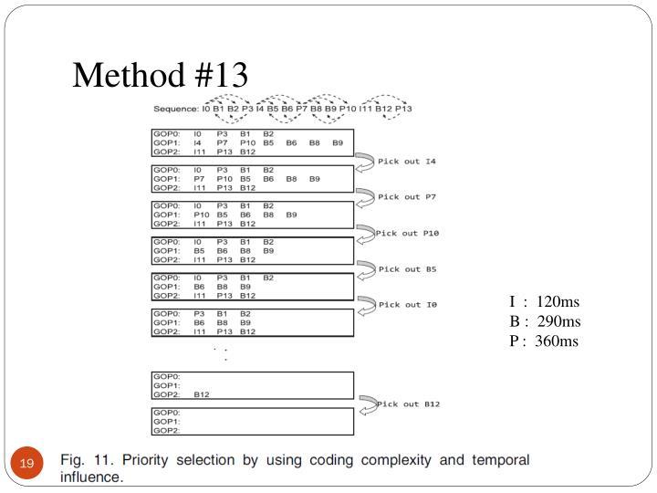 Method #13