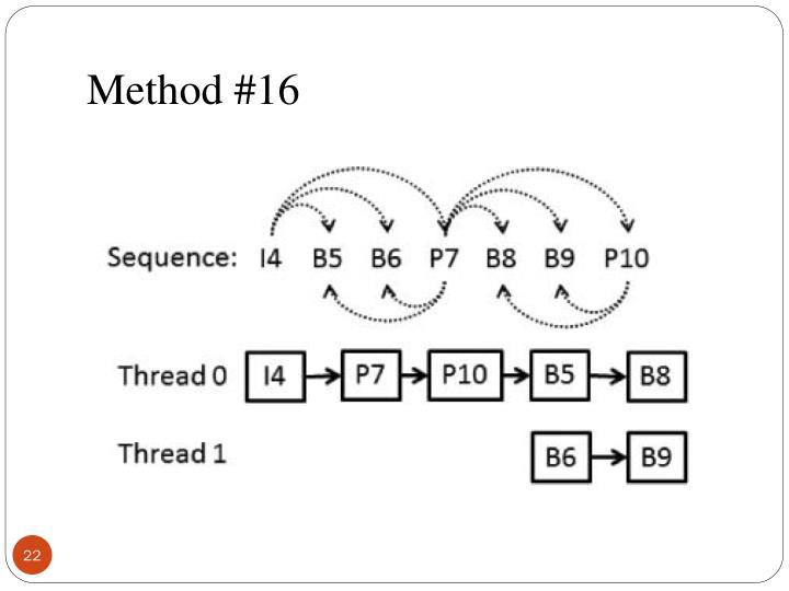Method #16