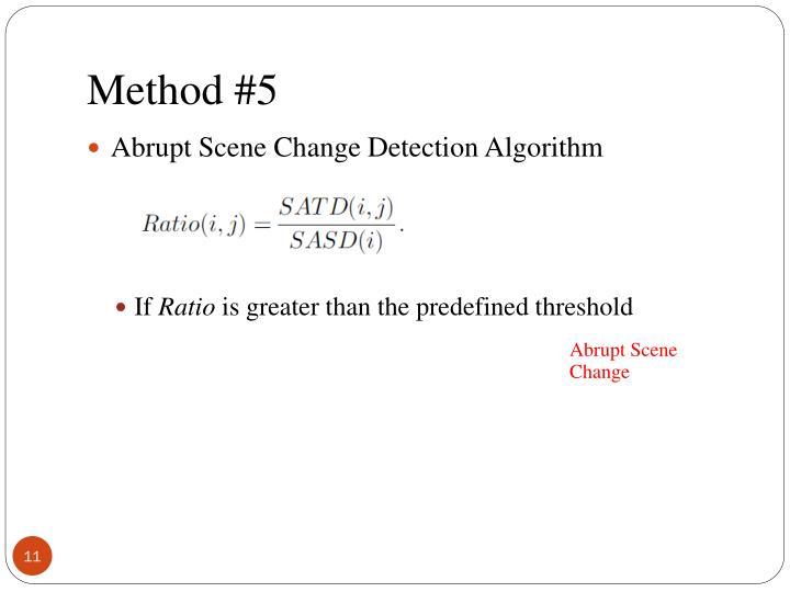 Method #5