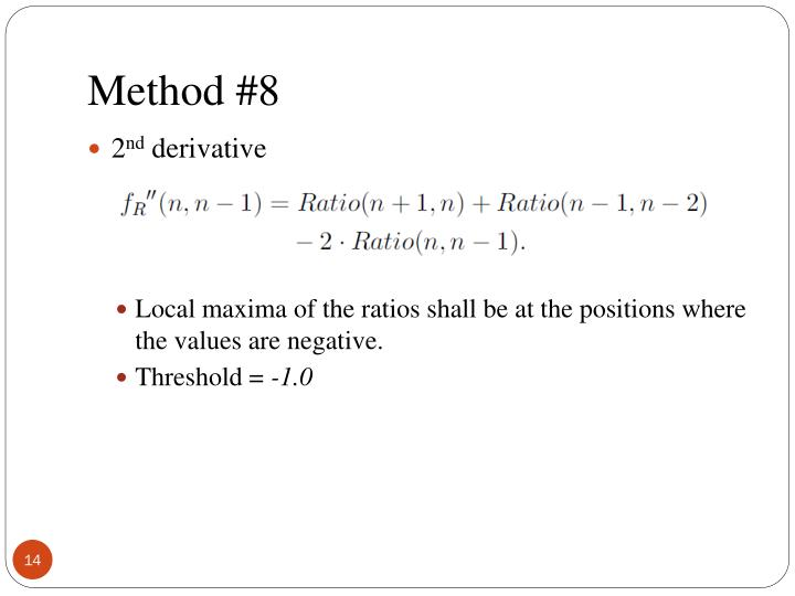 Method #8