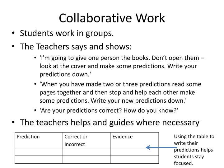 Collaborative Work
