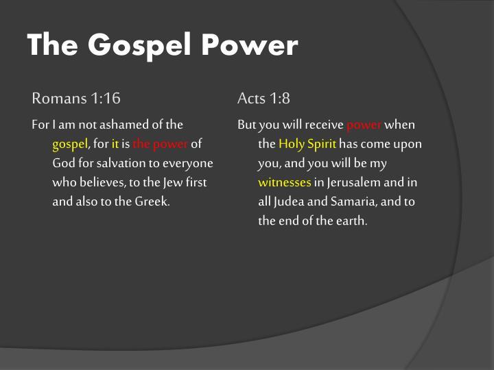 The Gospel Power