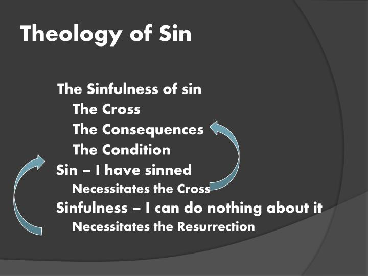 Theology of Sin