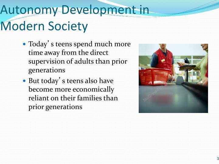 Autonomy Development in