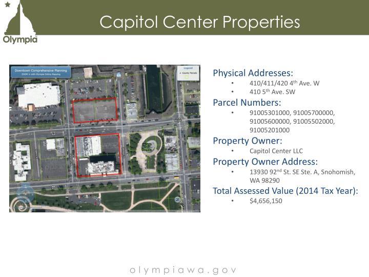 Capitol Center Properties