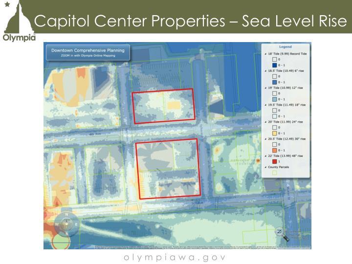 Capitol Center Properties – Sea Level Rise