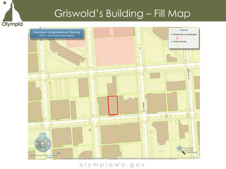 Griswold's Building – Fill Map