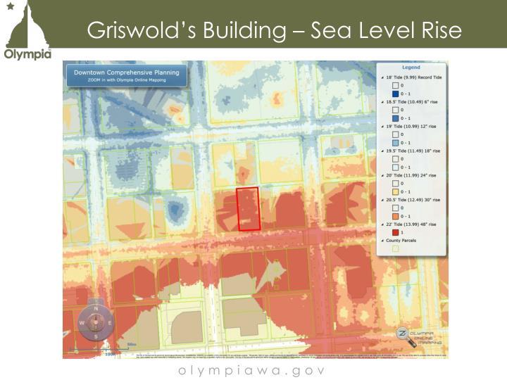 Griswold's Building – Sea Level Rise