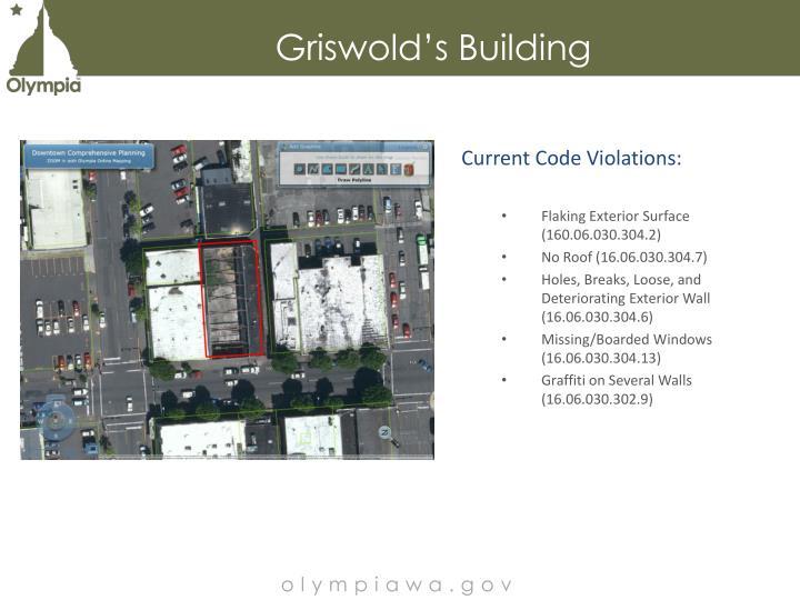 Griswold's Building