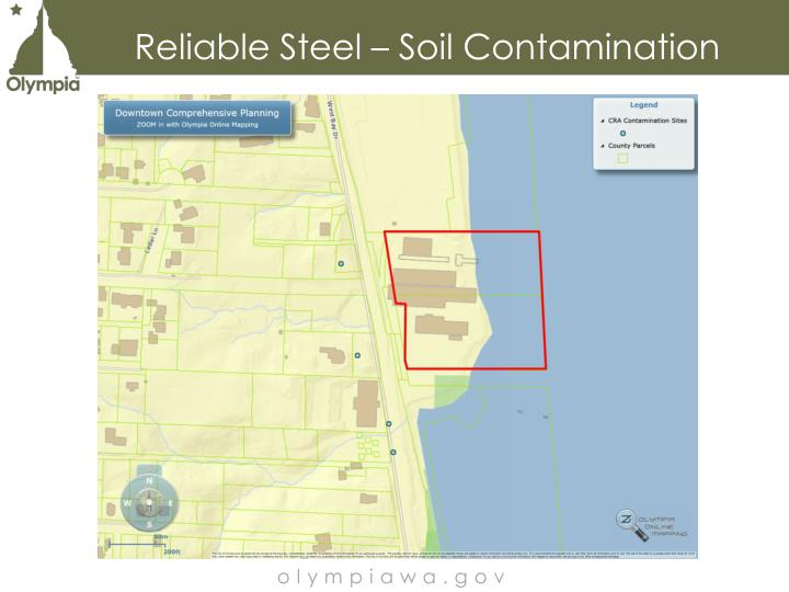Reliable Steel – Soil Contamination
