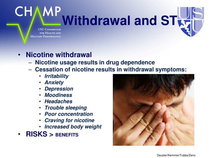 Withdrawal and ST