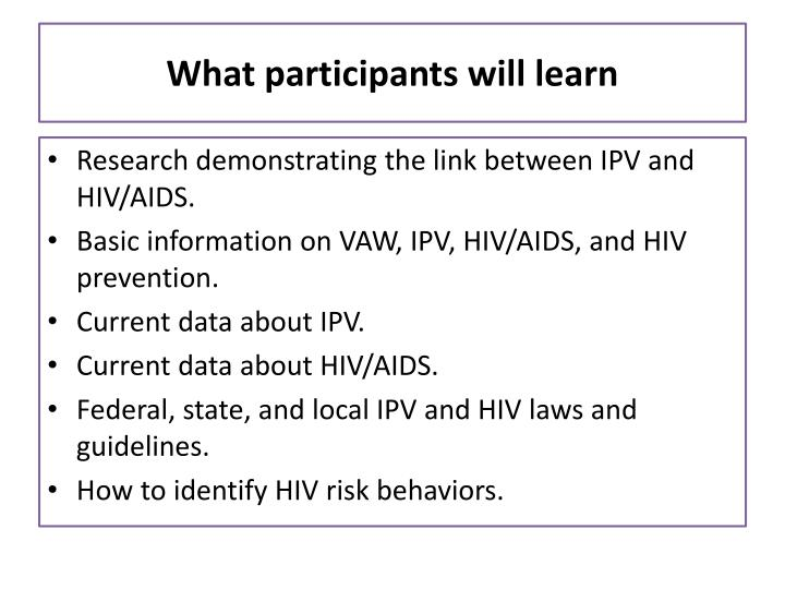 What participants will learn